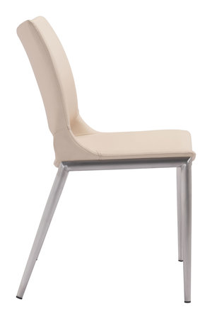 Thumbnail of Zuo Modern Contemporary - Ace Dining Chair - Set of 2 - Light Pink & Silver