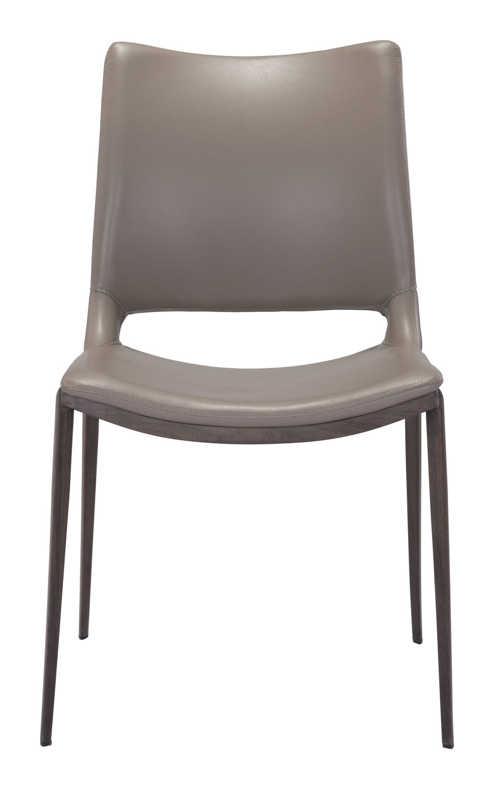 Zuo Modern Contemporary - Ace Dining Chair - Set of 2 - Gray & Walnut