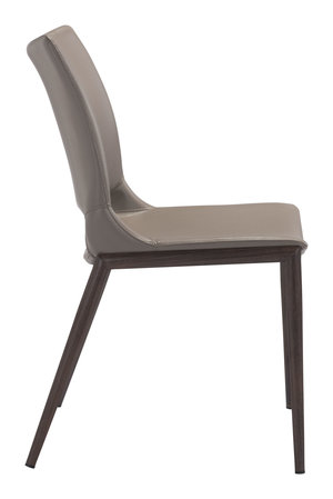 Thumbnail of Zuo Modern Contemporary - Ace Dining Chair - Set of 2 - Gray & Walnut