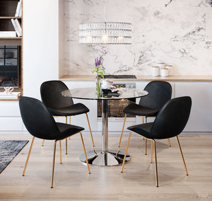 Thumbnail of Zuo Modern Contemporary - Siena Dining Chair - Set of 2 - Black