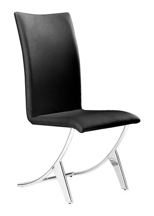 Thumbnail of Zuo Modern Contemporary - Delfin Dining Chair - Set of 2 - Black