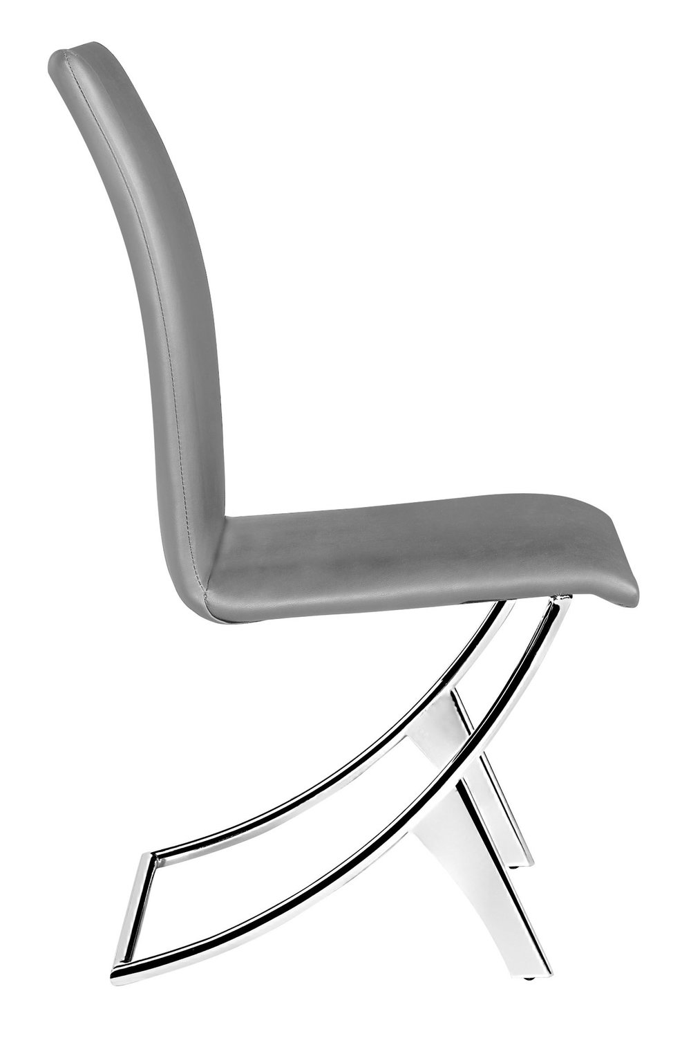 Zuo Modern Contemporary - Delfin Dining Chair - Set of 2 - Gray
