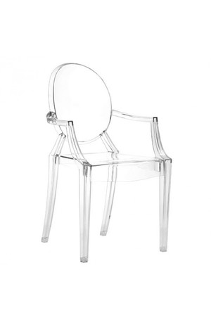 Thumbnail of Zuo Modern Contemporary - Anime Dining Chair - Set of 4 - Transparent