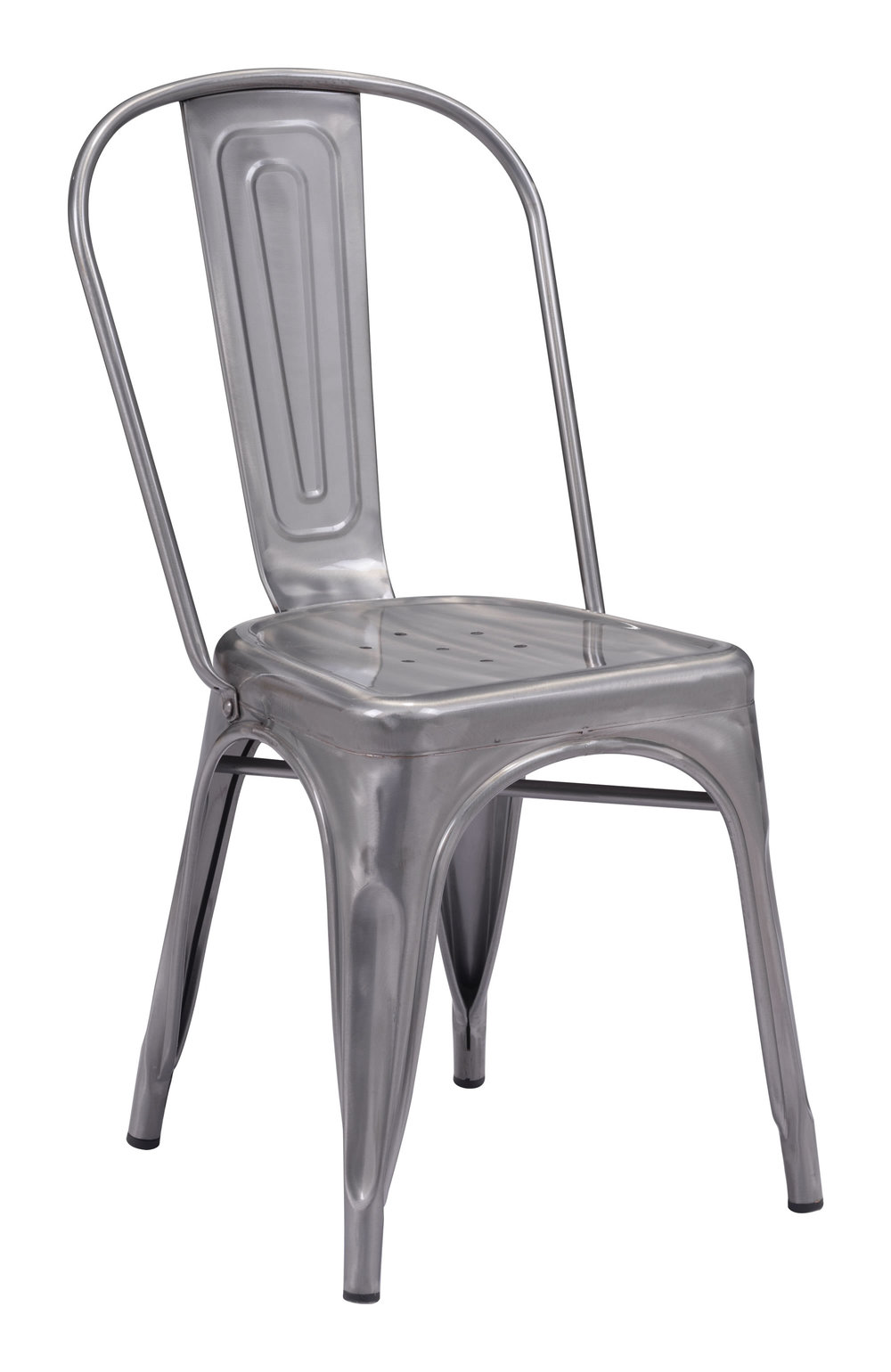 Zuo Modern Contemporary - Elio Dining Chair - Set of 2 - Gunmetal
