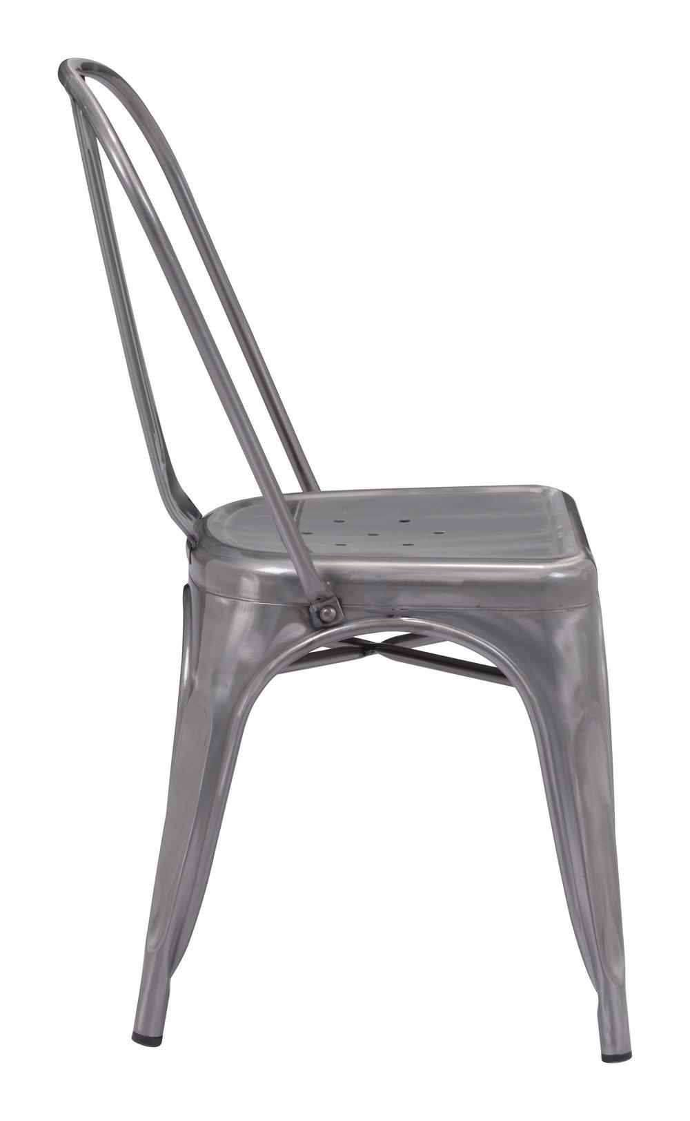 Zuo Modern Contemporary - Elio Dining Chair - Set of 2 - Gunmetal