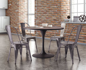 Thumbnail of Zuo Modern Contemporary - Elio Dining Chair - Set of 2 - Gunmetal