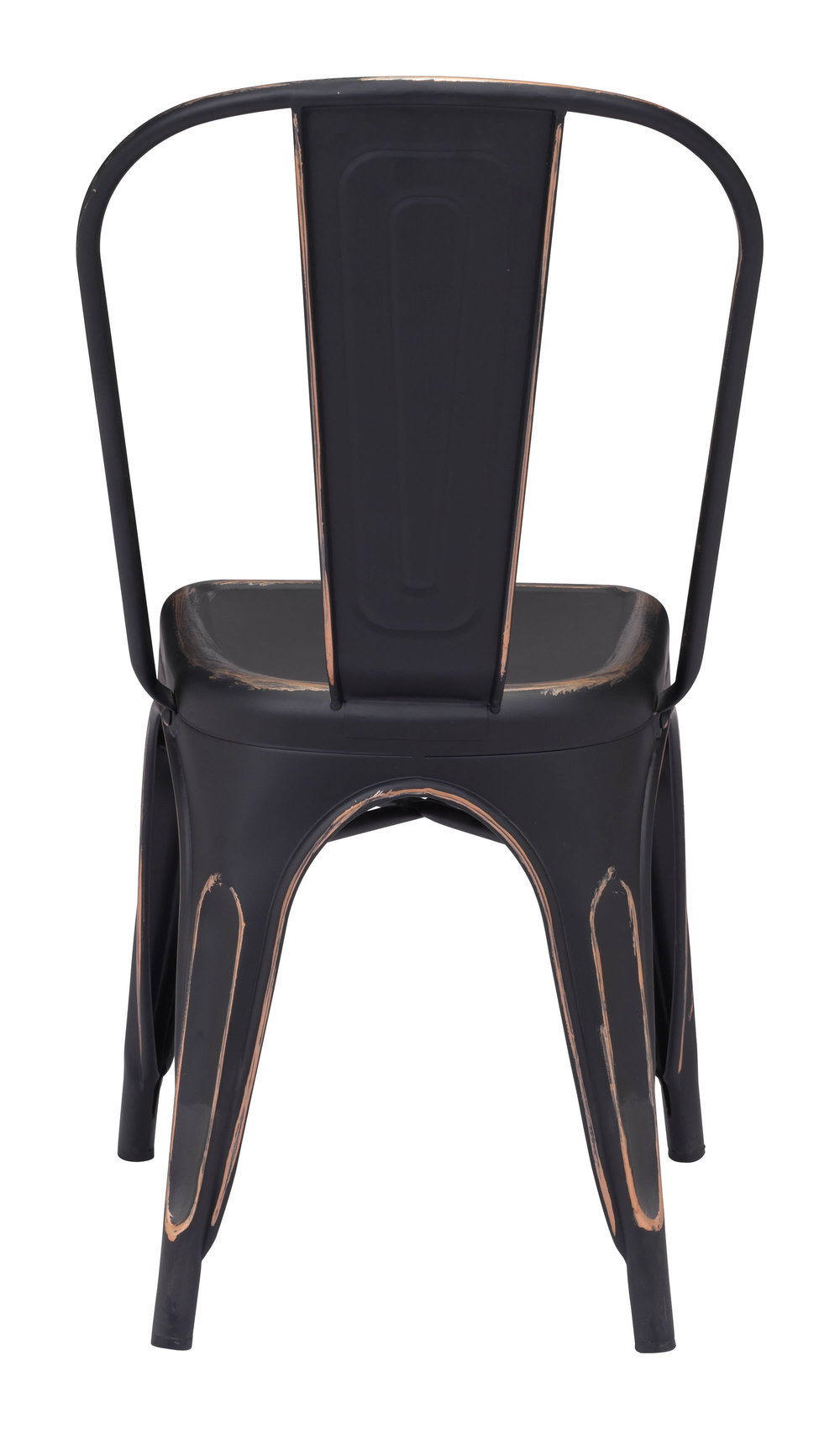 Zuo Modern Contemporary - Elio Dining Chair - Set of 2 - Antique Black Gold