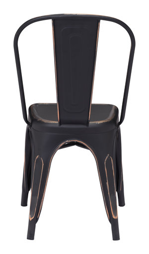 Thumbnail of Zuo Modern Contemporary - Elio Dining Chair - Set of 2 - Antique Black Gold