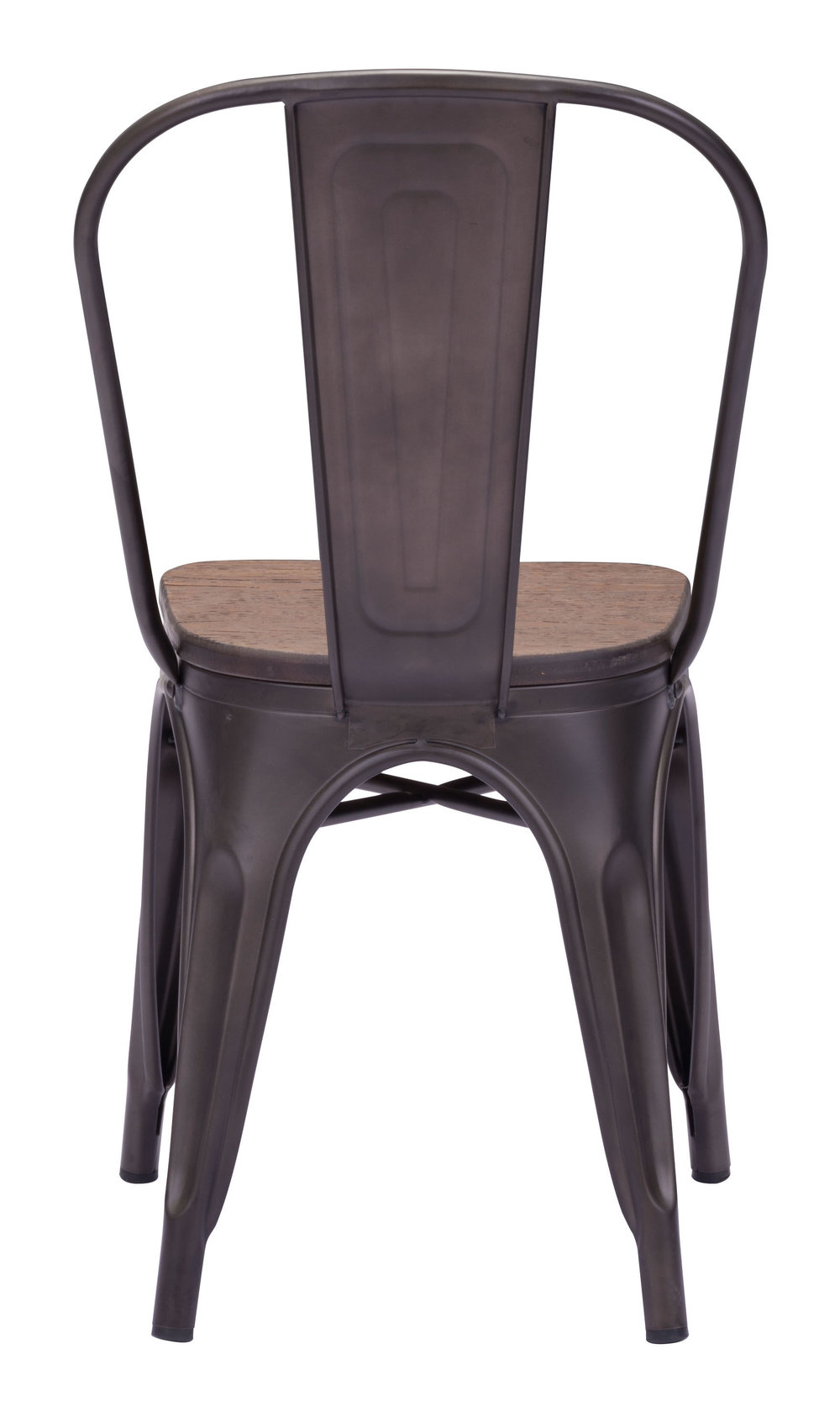ZUO MODERN CONTEMPORARY, INC - Elio Dining Chair - Set of 2 - Rustic Black