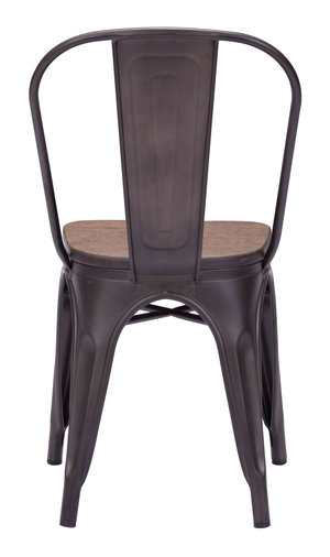 Thumbnail of ZUO MODERN CONTEMPORARY, INC - Elio Dining Chair - Set of 2 - Rustic Black