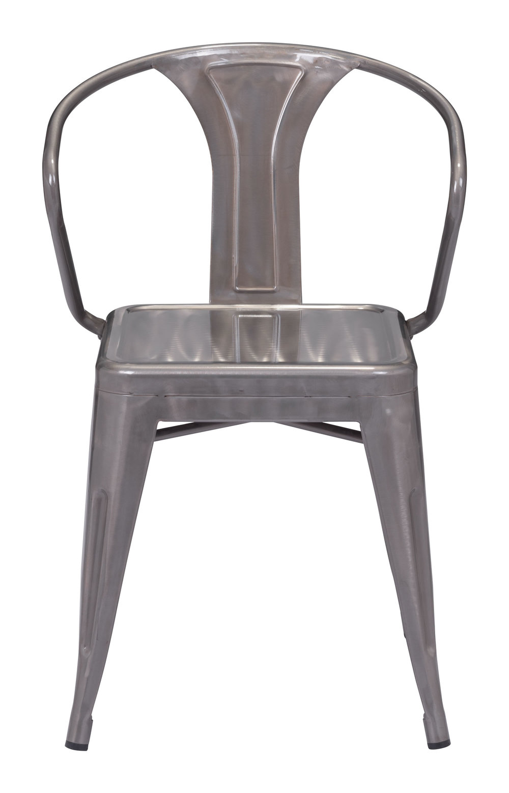 Zuo Modern Contemporary - Helix Dining Chair - Set of 2 - Gunmetal