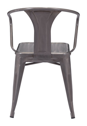 Thumbnail of Zuo Modern Contemporary - Helix Dining Chair - Set of 2 - Gunmetal