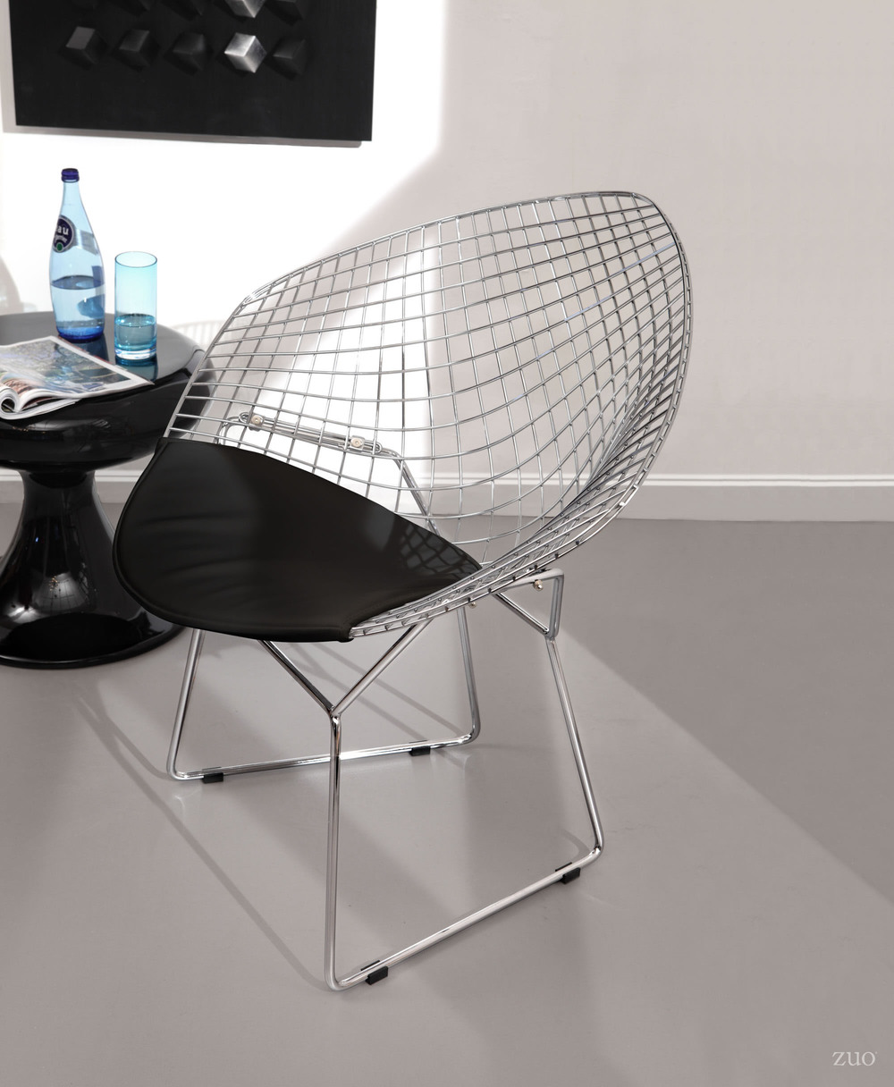 Zuo Modern Contemporary - Net Dining Chair - Set of 2 - Black