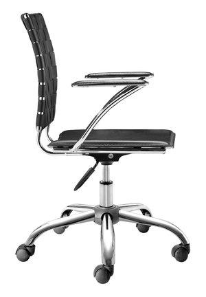 Thumbnail of Zuo Modern Contemporary - Criss Cross Office Chair Black