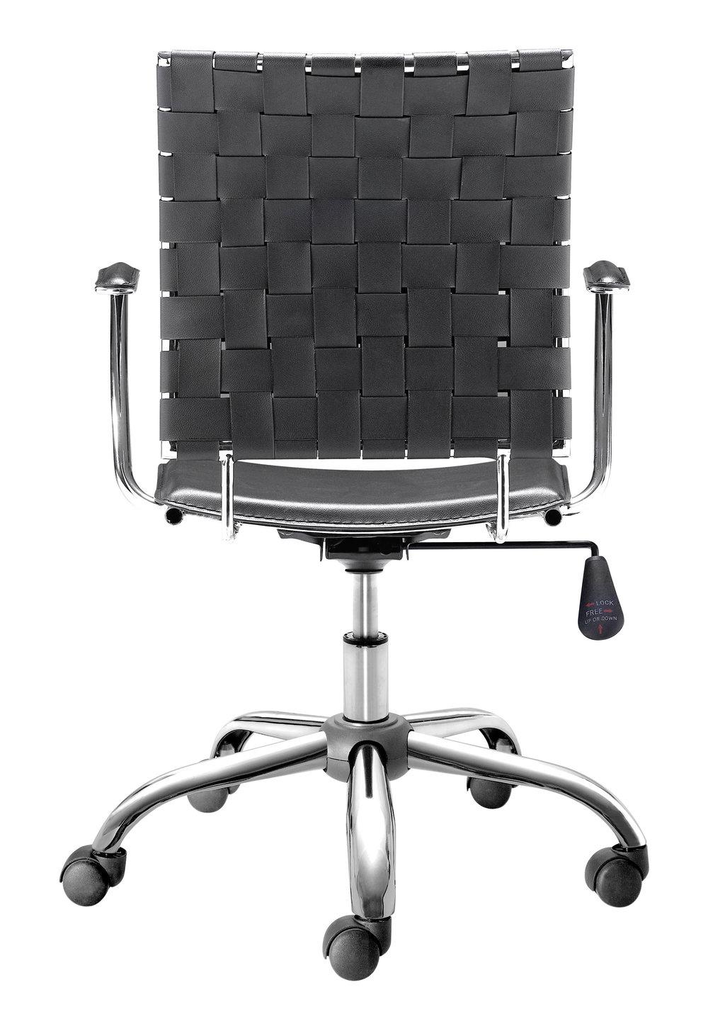Zuo Modern Contemporary - Criss Cross Office Chair Black