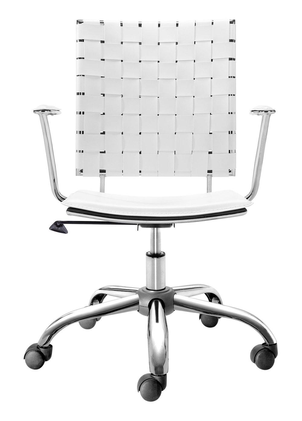 Zuo Modern Contemporary - Criss Cross Office Chair White