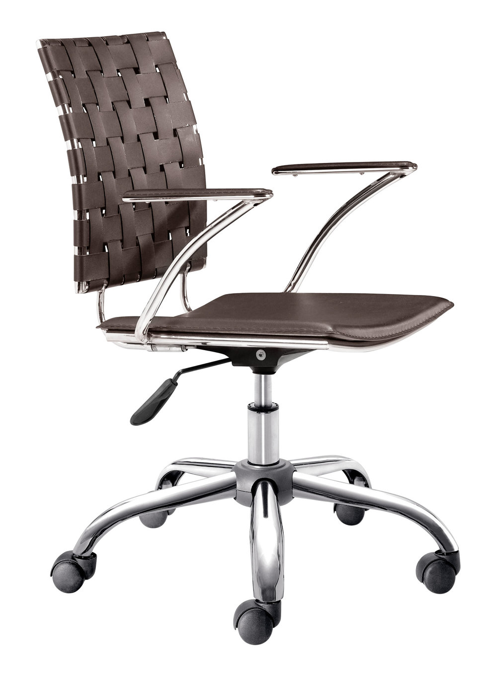 Zuo Modern Contemporary - Criss Cross Office Chair Espresso