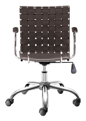 Thumbnail of Zuo Modern Contemporary - Criss Cross Office Chair Espresso