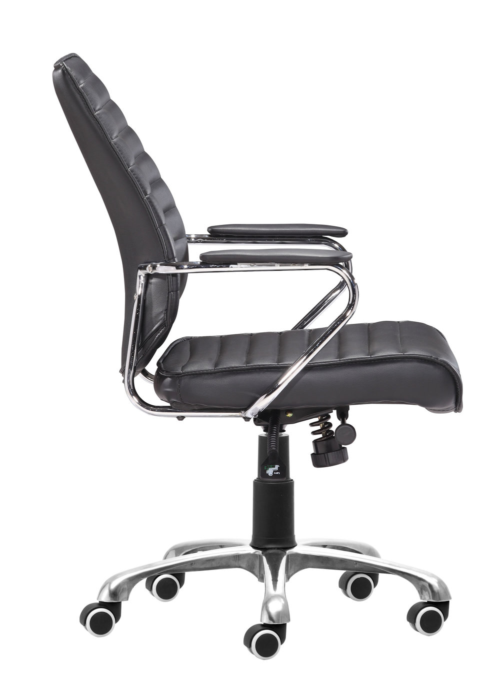 Zuo Modern Contemporary - Enterprise Low Back Office Chair Black
