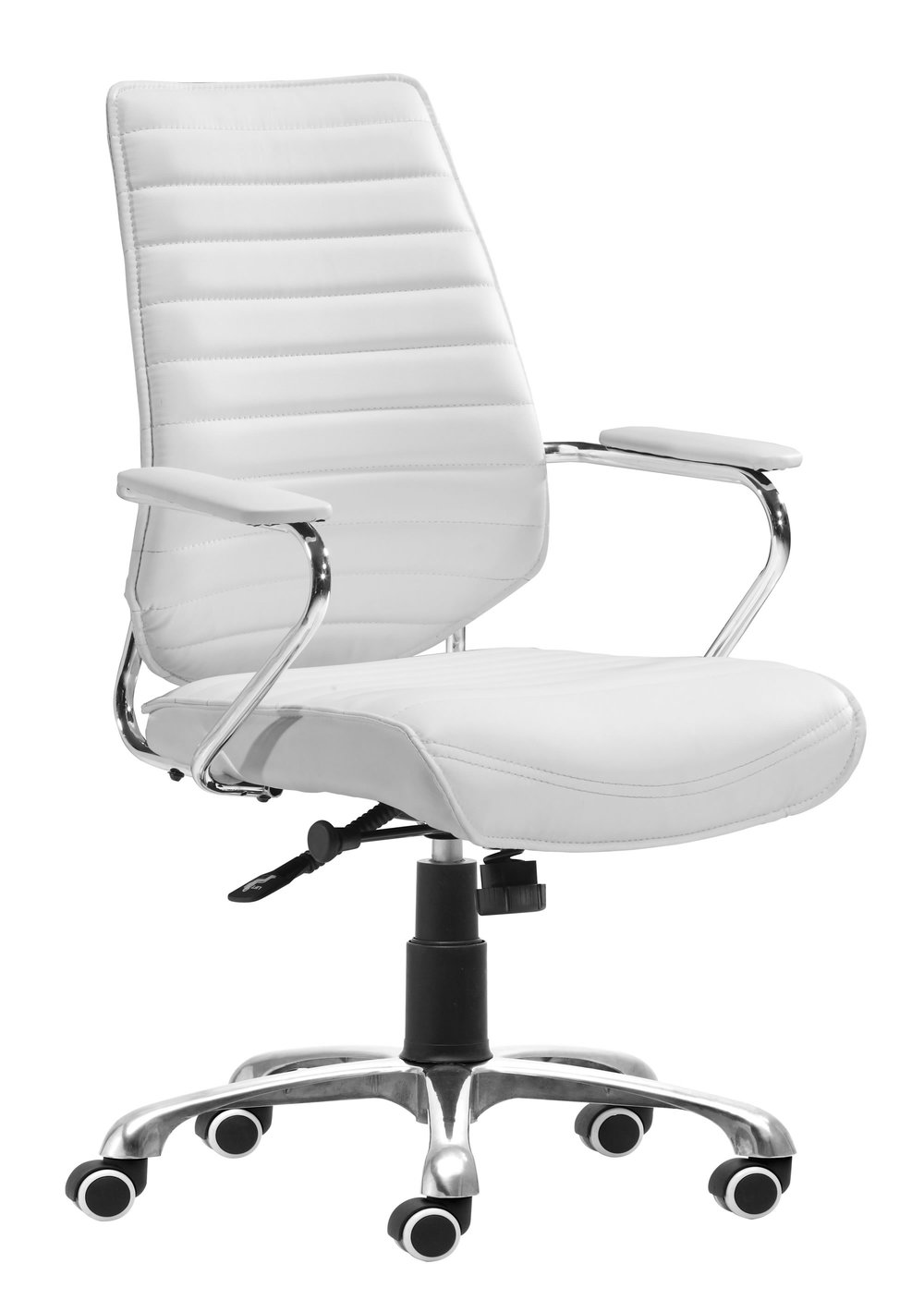 Zuo Modern Contemporary - Enterprise Low Back Office Chair White