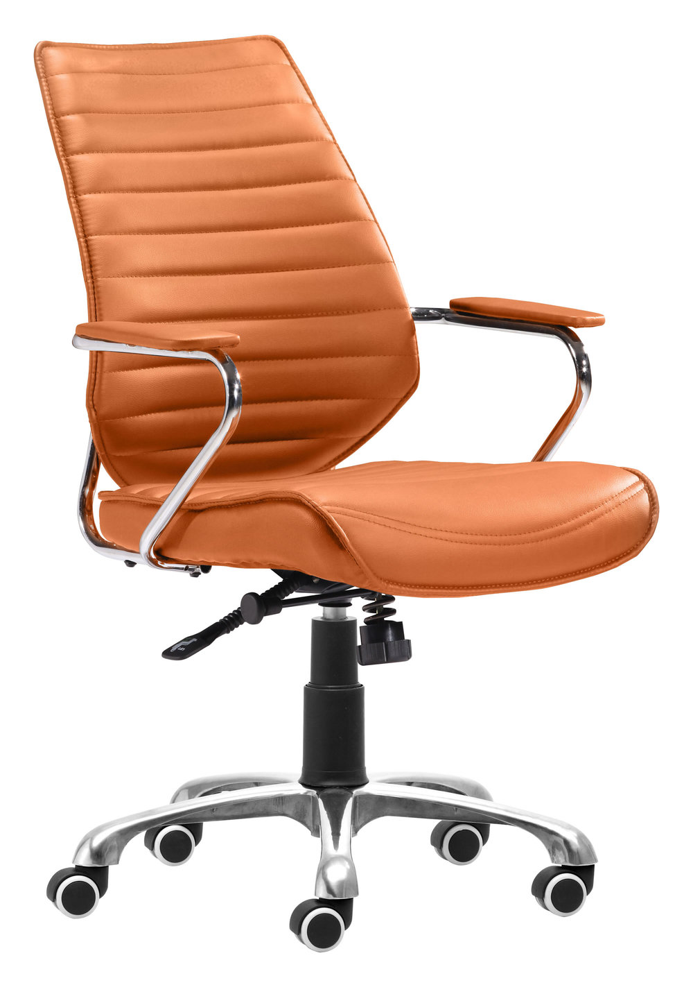 Zuo Modern Contemporary - Enterprise Low Back Office Chair Terracotta