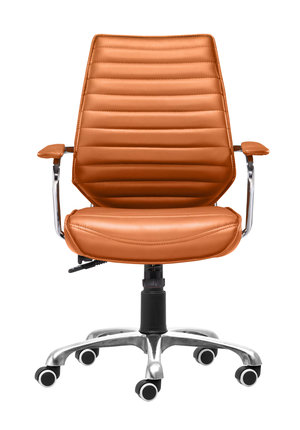 Thumbnail of Zuo Modern Contemporary - Enterprise Low Back Office Chair Terracotta