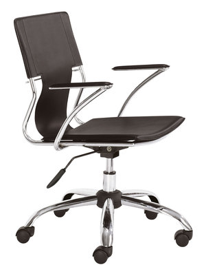 Thumbnail of Zuo Modern Contemporary - Trafico Office Chair Espresso