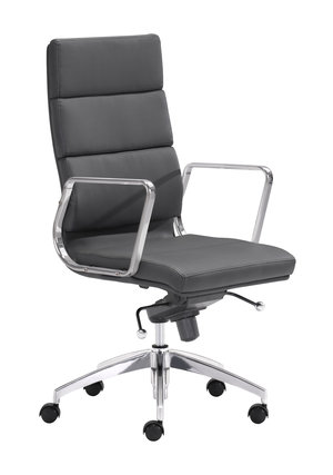 Thumbnail of Zuo Modern Contemporary - Engineer High Back Office Chair Black