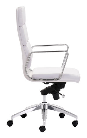 Thumbnail of Zuo Modern Contemporary - Engineer High Back Office Chair White