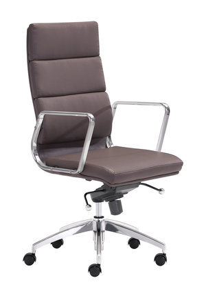 Thumbnail of Zuo Modern Contemporary - Engineer High Back Office Chair Espresso