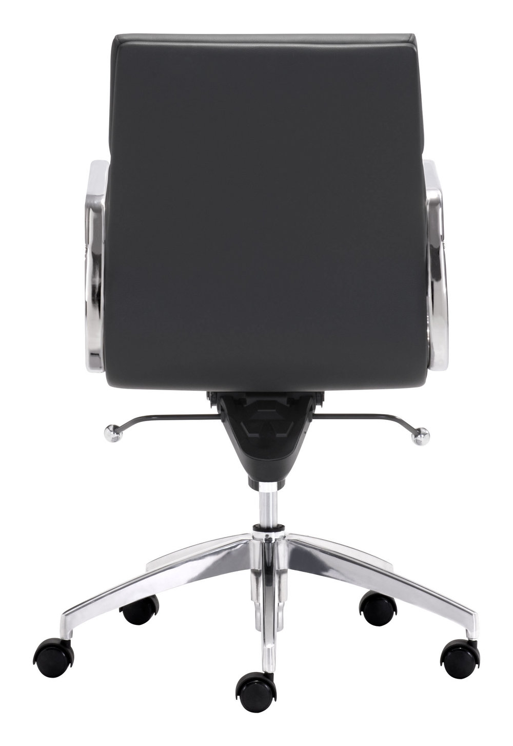 Zuo Modern Contemporary - Engineer Low Back Office Chair Black