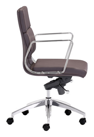 Thumbnail of Zuo Modern Contemporary - Engineer Low Back Office Chair Espresso