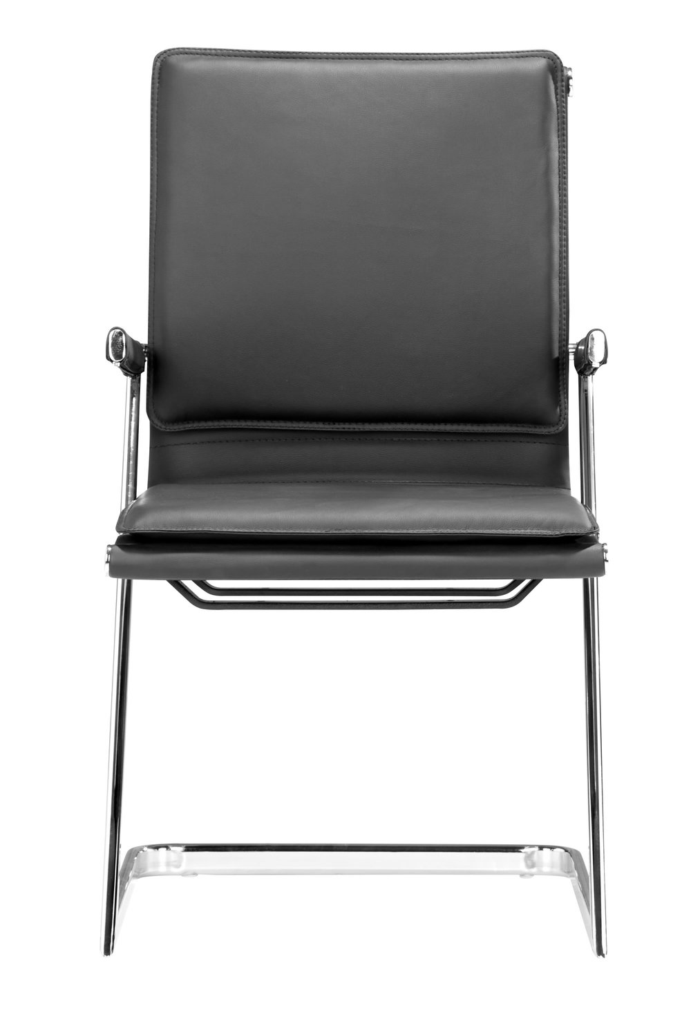 Zuo Modern Contemporary - Lider Plus Conference Chair, Set/2, Black