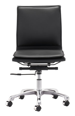 Thumbnail of Zuo Modern Contemporary - Lider Plus Armless Office Chair Black