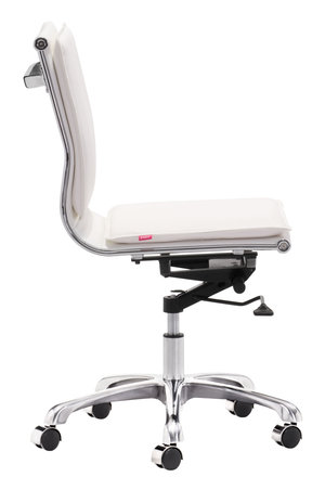 Thumbnail of Zuo Modern Contemporary - Lider Plus Armless Office Chair White