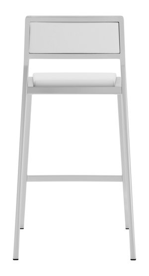 Thumbnail of Zuo Modern Contemporary - Dolemite Counter Chair - Set of 2 - White