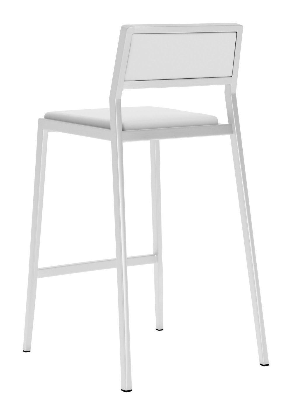 Zuo Modern Contemporary - Dolemite Counter Chair - Set of 2 - White