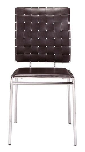 Thumbnail of Zuo Modern Contemporary - Criss Cross Dining Chair - Set of 4 - Espresso