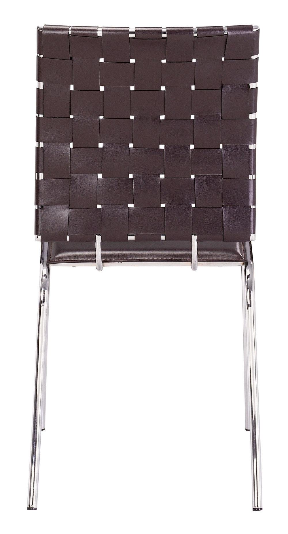 Zuo Modern Contemporary - Criss Cross Dining Chair - Set of 4 - Espresso