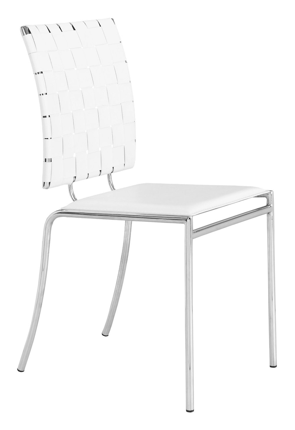 Zuo Modern Contemporary - Criss Cross Dining Chair - Set of 4 - White