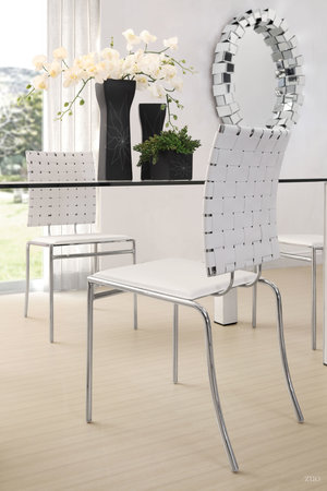 Thumbnail of Zuo Modern Contemporary - Criss Cross Dining Chair - Set of 4 - White
