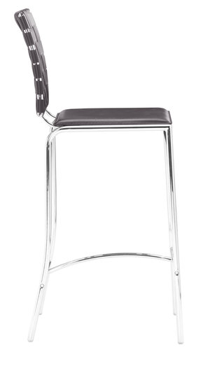 Thumbnail of Zuo Modern Contemporary - Criss Cross Counter Chair - Set of 2 - Espresso