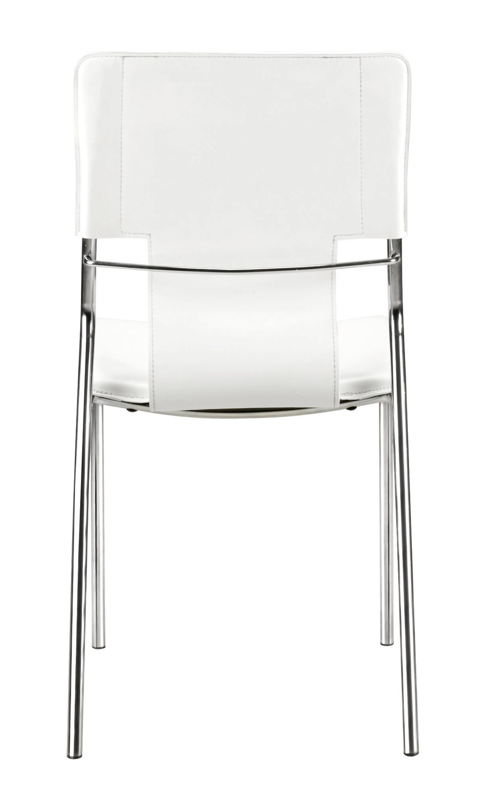 Zuo Modern Contemporary - Trafico Dining Chair - Set of 4 - White