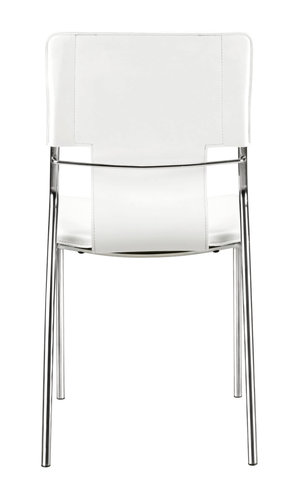 Thumbnail of Zuo Modern Contemporary - Trafico Dining Chair - Set of 4 - White