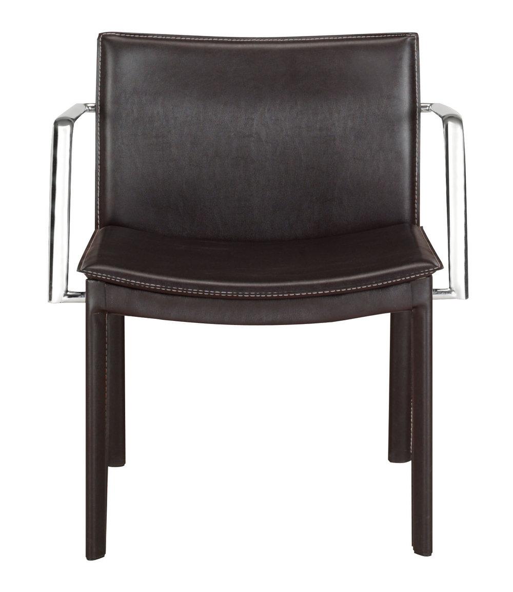 Zuo Modern Contemporary - Gekko Conference Chair, Set/2, Espresso