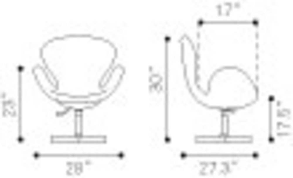 Zuo Modern Contemporary - Pori Occasional Chair Gray