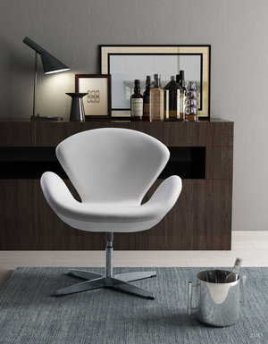Thumbnail of Zuo Modern Contemporary - Pori Occasional Chair White