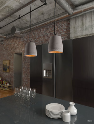 Thumbnail of Zuo Modern Contemporary - Fortune Ceiling Lamp Gray