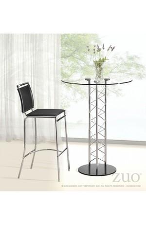 Thumbnail of Zuo Modern Contemporary - Chardonnay Bar Table Chrome