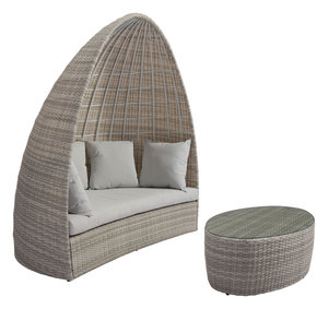Thumbnail of Zuo Modern Contemporary - Valencia Daybed White & Gray